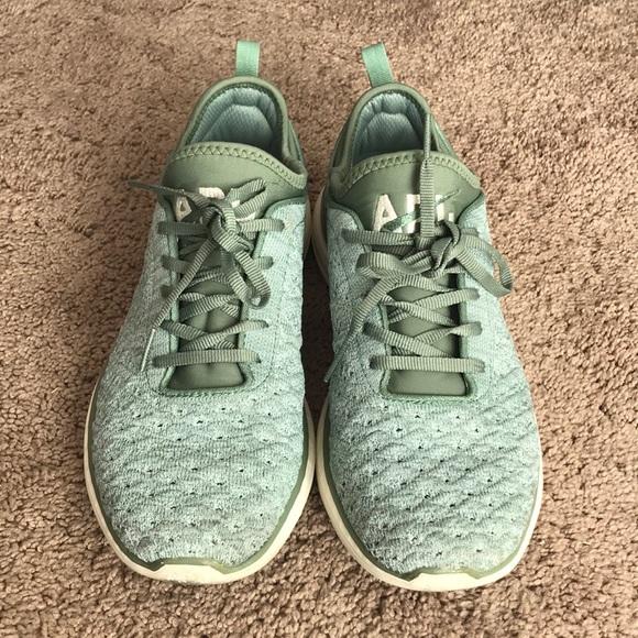APL Shoes   Apl Green Sneakers   Poshmark